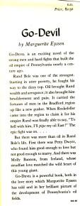 Go-devil 1947 summary