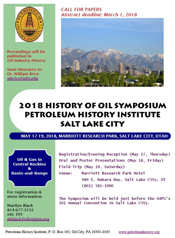2018 call for papers