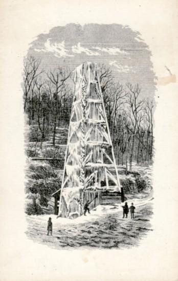frozen rig